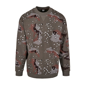 TB CAMO OVER SIZE CREWNECK