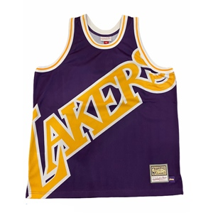 M&N BIG FACE LAKERS JERSEY