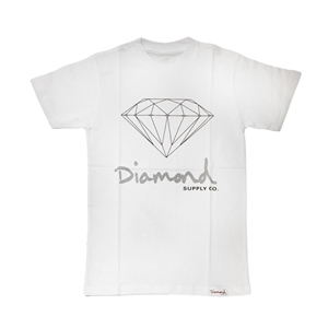 DIAMOND SUPPLY OG SIGN T-SHIRT