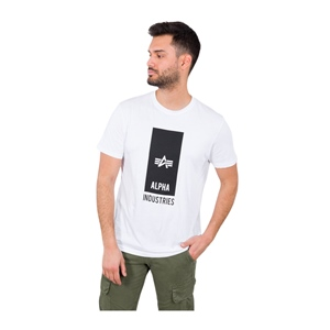 ALPHA INDUSTRIES BLOCK LOGO T-SHIRT