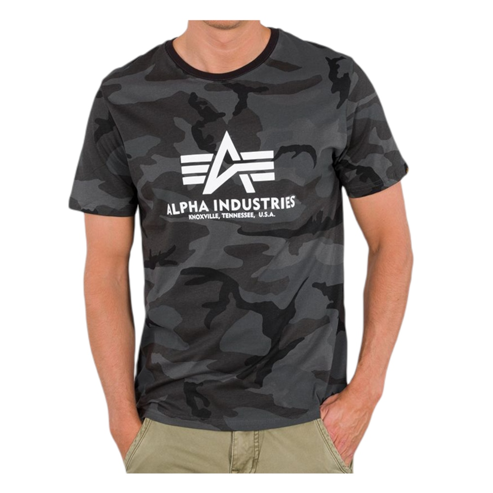 ALPHA INDUSTRIES BASIC CAMO T-SHIRT
