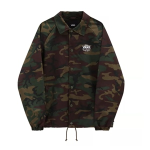 VANS CAMO TERRY COACH JACKET
