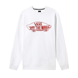 VANS OFF WHITE WALL CREWNECK
