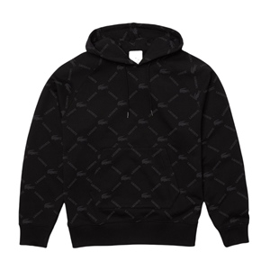 LACOSTE LIVE ALL OVER LOGO HOODY