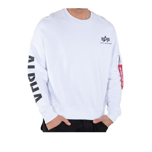 ALPHA INDUSTRIES SLEEVE PRINT CREWNECK