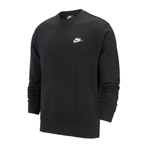 NIKE NSW CLUB LOGO TERRY CREWNECK