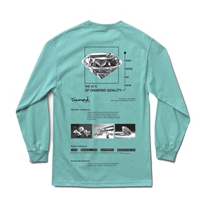 DIAMOND BLUEPRINT LONGSLEEVE