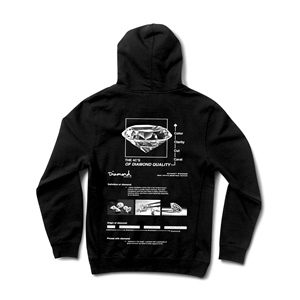 DIAMOND BLUEPRINT HOODY