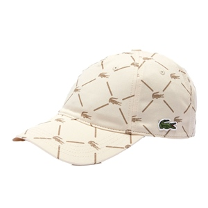 LACOSTE ALL OVER LOGO CAP