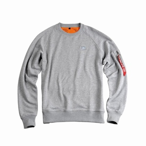 ALPHA INDUSTRIES X FIT CREWNECK