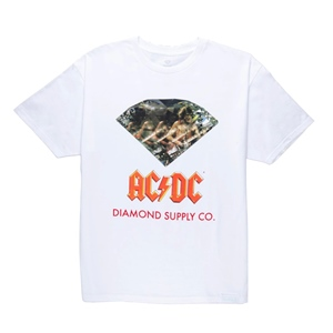 DIAMOND ACDC DIAMOND LOGO T-SHIRT