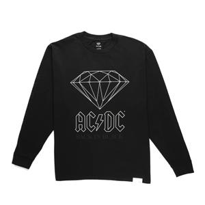 DIAMOND ACDC BACK IN BLACK LONGSLEEVE
