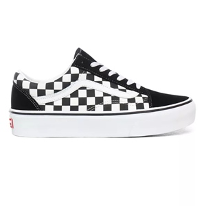 WMNS VANS OLD SKOOL CHECKER PLATFORM