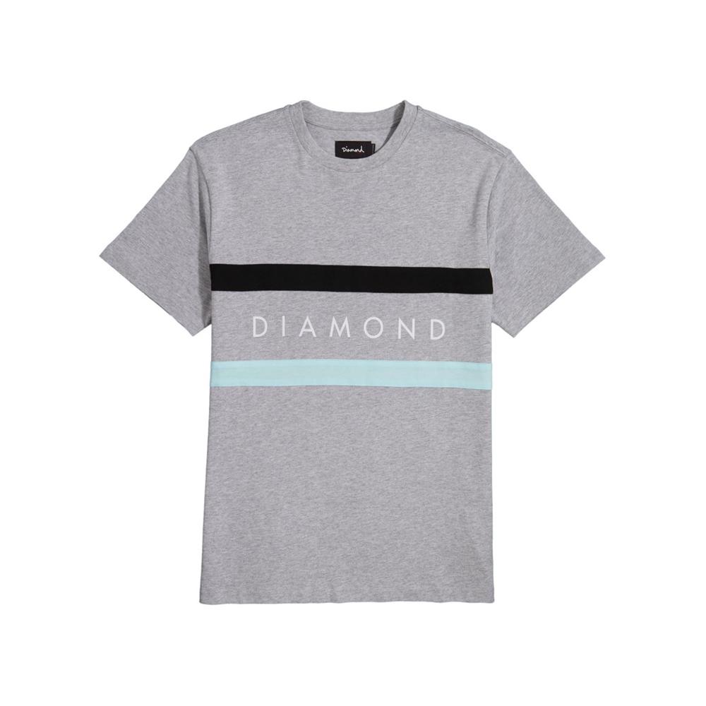 DIAMOND PANEL S/S T-SHIRT