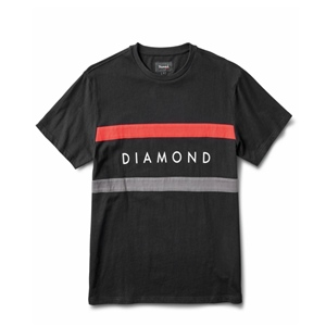DIAMOND PANEL S/S T-SHIRT