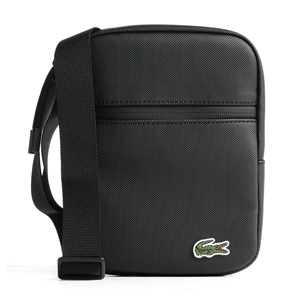 LACOSTE S FLAT CROSSOVER BAG