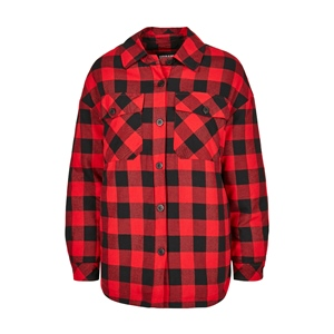 TB PADDED CHECK FLANNEL JACKET