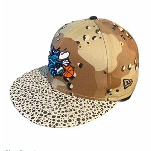 NE CAMO HOOK HORNETS CAP